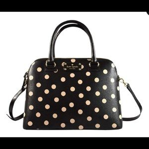 Rachelle Wellesley Polka Dot Kate Spade Bag ♠️